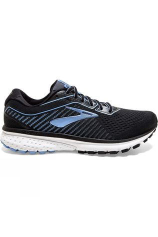 Brooks Women's Ghost 12 Black/Turbulence/Cornflower