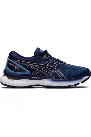 Asics Women's Gel-Nimbus 22 GREY FLOSS/PEACOAT