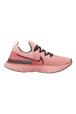 Nike Women's Epic React Infinity Run Flyknit Bright Melon/Black ember Glow