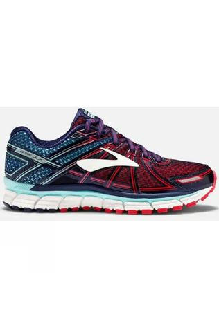 Brooks Womens Adrenaline GTS 17 Limpet Shell/Evening Blue/Virtual Pink