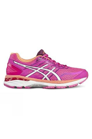 Asics Womens GT-2000 5 PINK GLOW/WHITE/DARK PURPLE