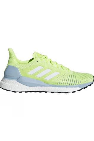Adidas Womens Solar Glide ST hi-res yellow/ftwr white/ASH GREY S18