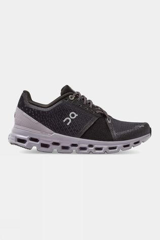 On Women's Cloudstratus Black/Lilac