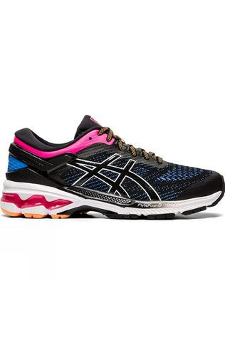 Asics Women's Gel-Kayano 26 BLACK/BLUE COAST