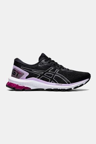 Asics Womens GT-1000 9 BLACK/PURE SILVER