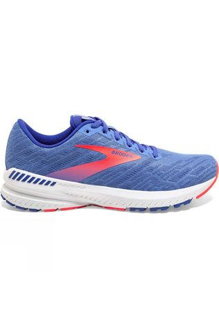 Brooks Women's Ravenna 11 Wide Cornflower/Blue/Coral