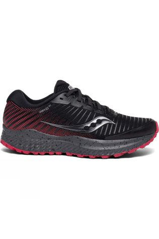 Saucony Womens Guide 13 Tr Shoe Black/Barberry