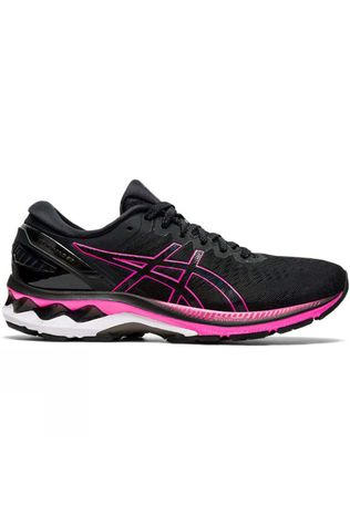 Asics Women's Gel-Kayano 27 BLACK/PINK GLO