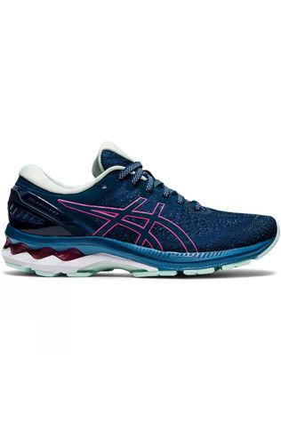 Asics Women's Gel-Kayano 27 	MAKO BLUE/HOT PINK