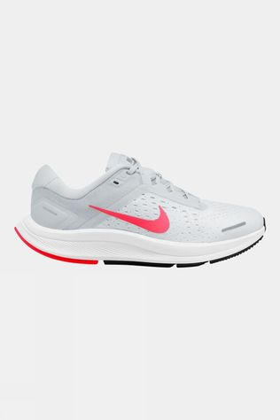 Nike Women's Air Zoom Structure 23 Pure Platinum/ Flash Crimson