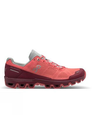 On Women's Cloudventure Coral/Mulberry