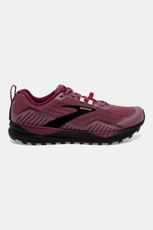 Brooks Womens Cascadia 15 Nocturne/Zinfandel/Black