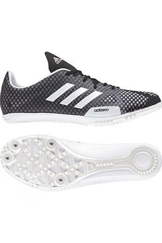 Adidas Womens Adizero Ambition 4 Spikes Core Black / Ftwr White / Orange