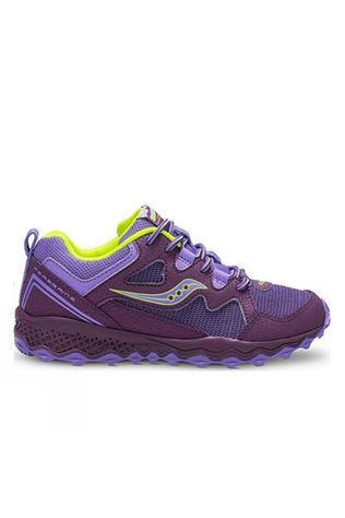 Saucony Girls Peregrine Shield 2 Purple/Citron