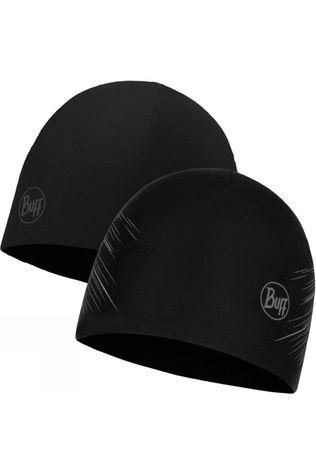Mens Microfibre Reversible Hat Black