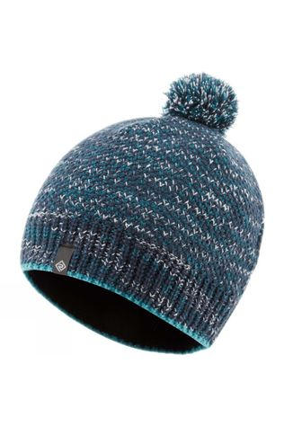 Ronhill Bobble Hat Deep Navy/Spa Green