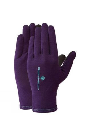 Ronhill Merino 200 Glove Blackberry/Aquamint