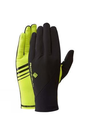 Ronhill Wind-Block Glove Black/Fluo Yellow