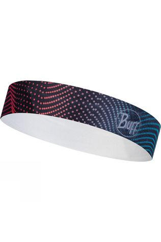 Buff Women's Wide Headband Glow Waves Multi