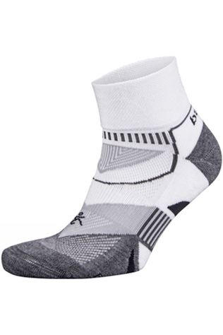 Balega  Enduro V-Tech Quarter Socks White/Mid Grey