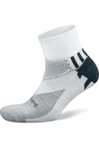 Balega  Enduro V-Tech Quarter Socks White/Midnight