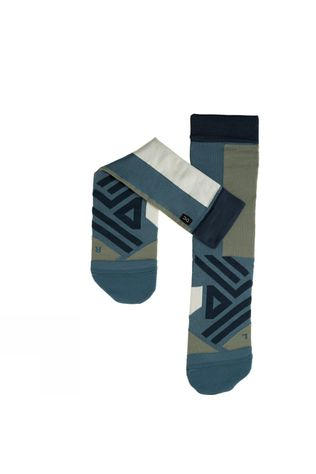On Men's High Sock Storm/Moss
