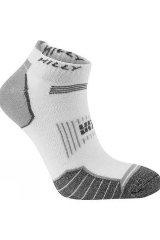 Hilly Twin Skin Socklet White/Grey Marl