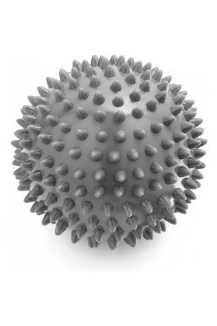 Live on the Edge 9cm Hard Spiky Massage Ball Grey