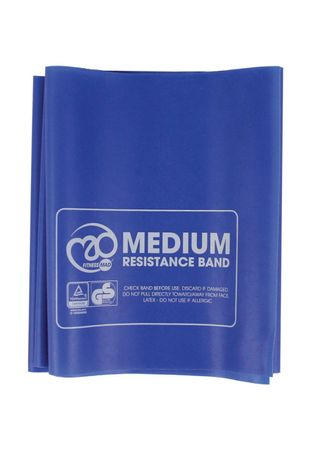 Fitness Mad Resistance Band Medium (band only) Blue