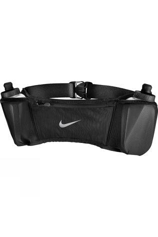 Nike Double Pocket Flask Belt  Black/Silver