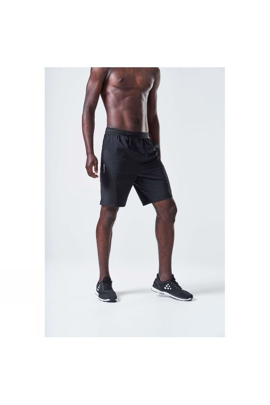 Craft Core Essence Relaxed Shorts Black