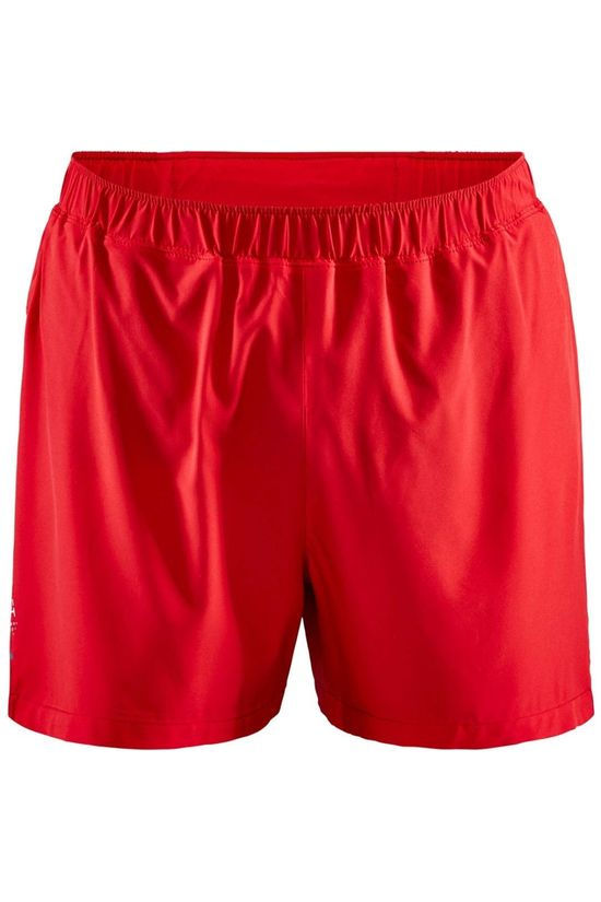 "Craft Advance Essence 5"" Stretch Shorts Bright Red"