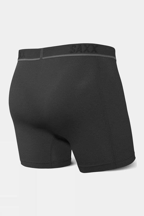Saxx Men's Kinetic HD Boxer Brief Black