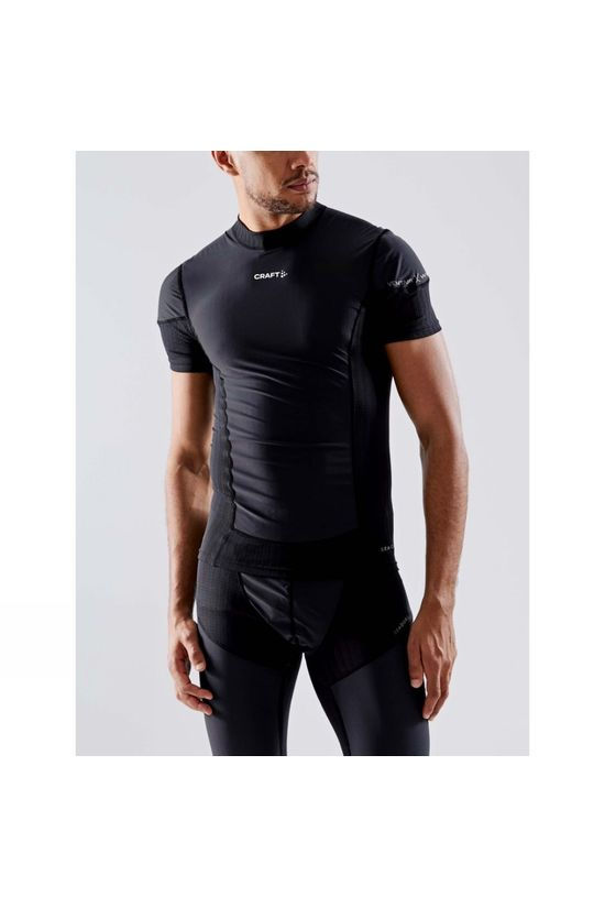 Craft Active Extreme X Wind Short Sleeve Baselayer Black/Granite