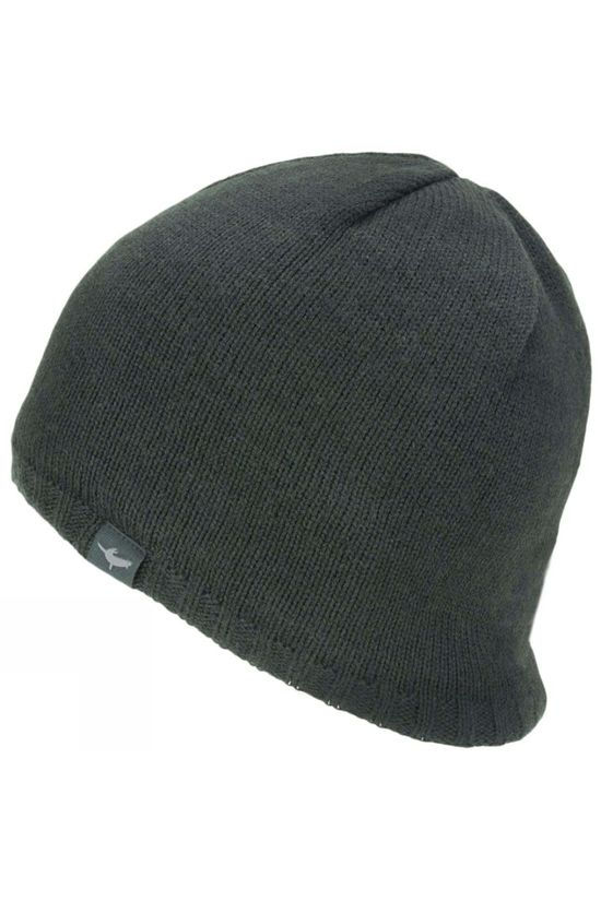 SealSkinz Mens Waterproof Cold Weather Beanie Black