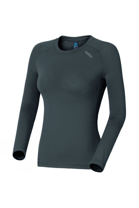 Odlo Womens Sillian Long Sleeve T-Shirt Odlo Graphite Grey