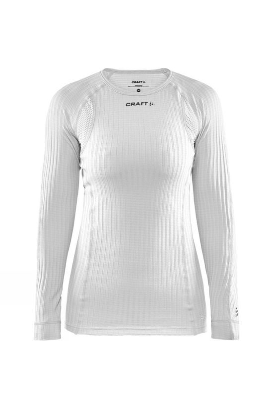 Craft Womens Active Extreme X Round Neck Long Sleeve Baselayer White