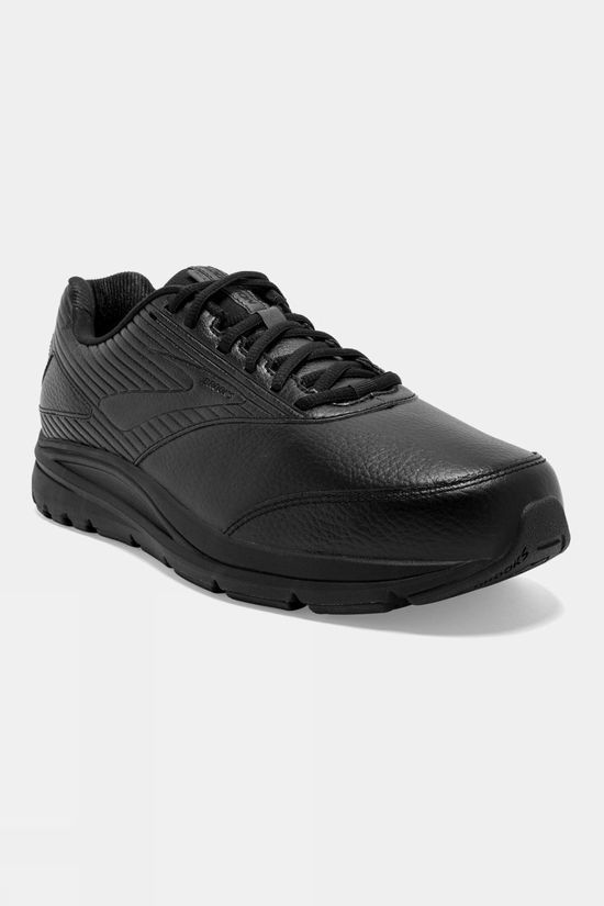 Brooks Mens Addiction Walker 2 Black/Black
