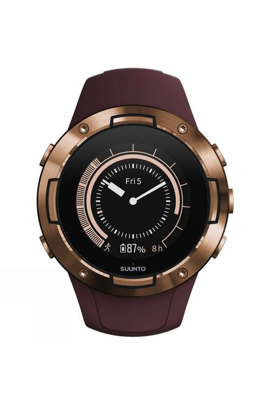 Suunto 5 GPS Multisport Watch Burgundy Copper
