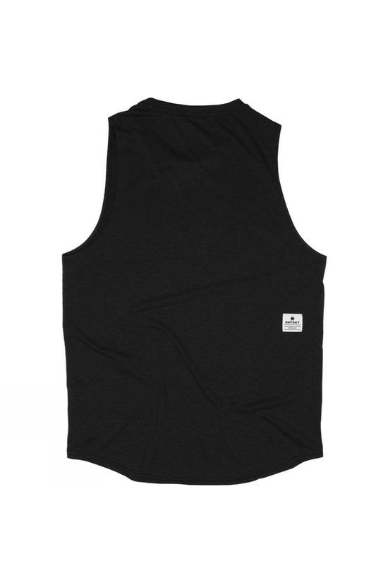 Saysky Unisex Classic Workout Tank Black