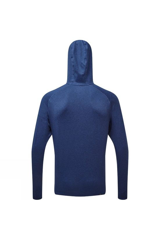 Ronhill Men's Ronhill Momentum Workout Hoodie Midnight Blue/Flame