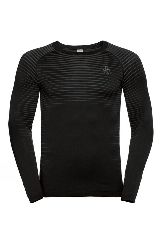 Odlo Mens Performance Light Bl Top Crew Neck L/S Black
