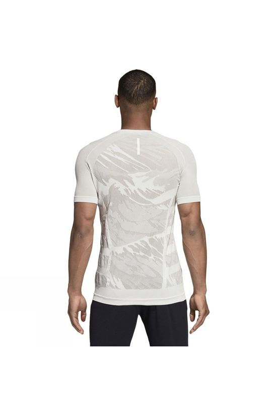 Adidas Mens Ultra Parley Short Sleeve Tee Cloud White F18