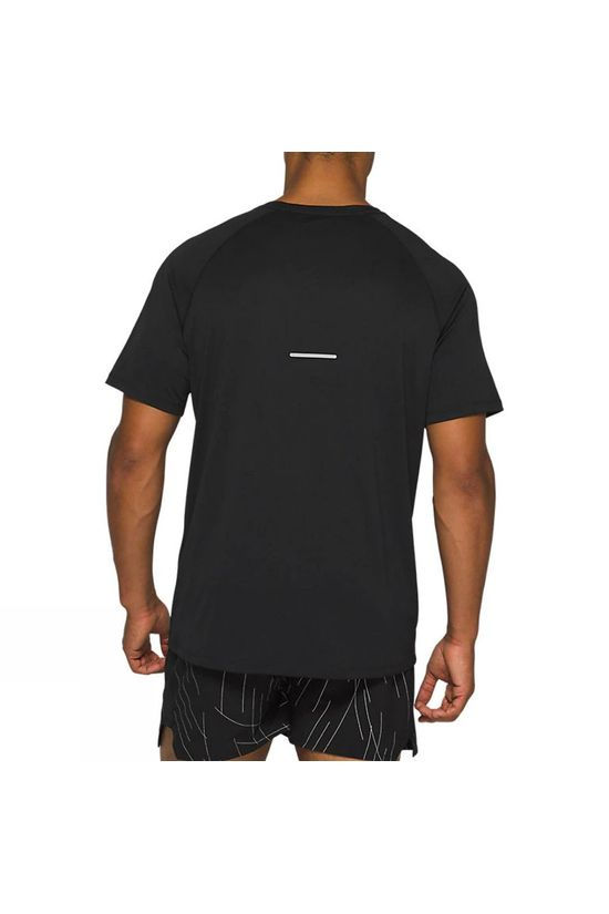 Asics Night Track Short Sleeve Top Black