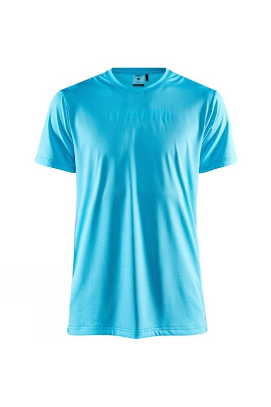 Craft Mens Core Essence Short Sleeve Mesh Tee Menthol