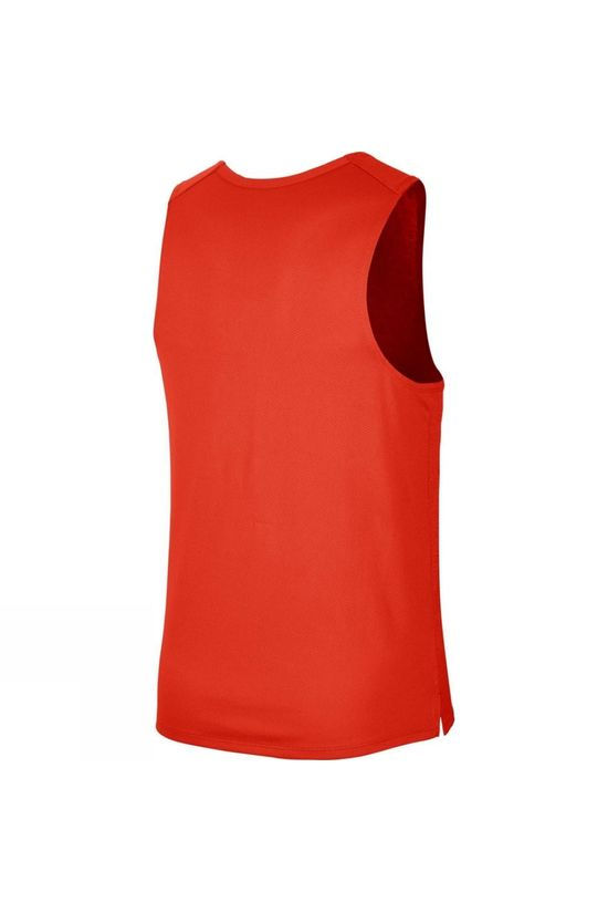 Nike Men's Dry Fit Miler Graphic Tank Team Orange