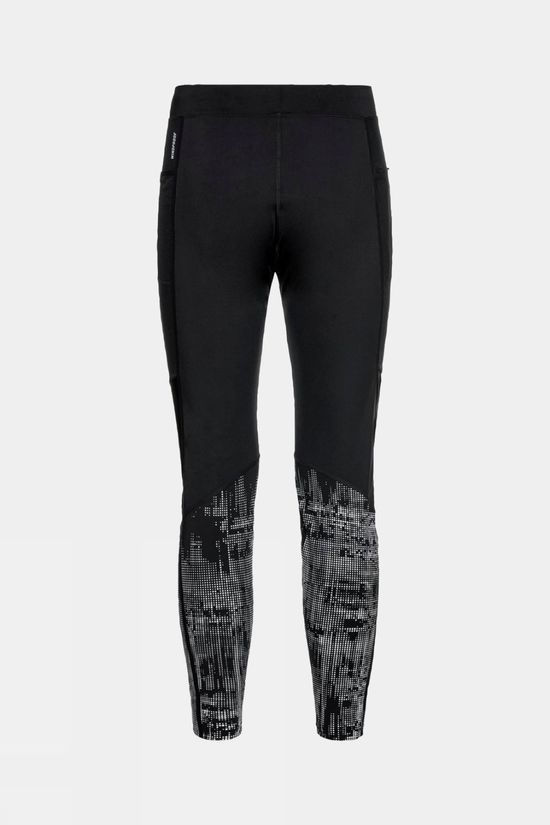 Odlo Men's Zeroweight Warm Reflective Tights Black Reflective
