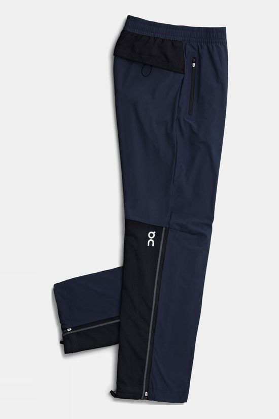 On Mens Track Pants Dark/Black
