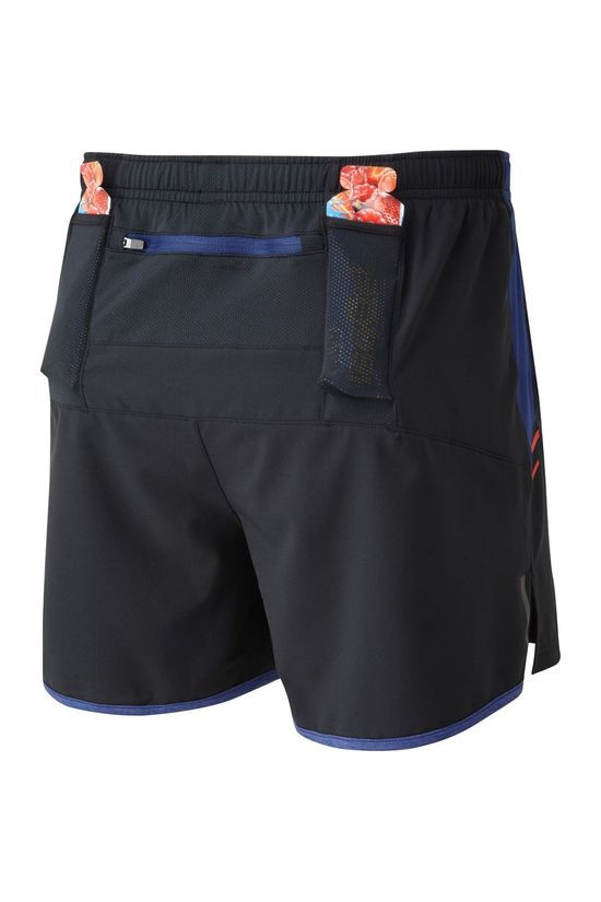 Ronhill Men's Stride Cargo Short Black/Flame