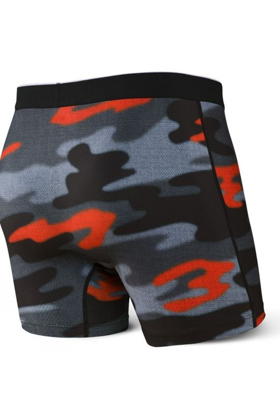 Saxx Men's Boxer Brief Hazy Camo